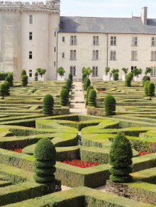 Villandry Chateau Loire Valley