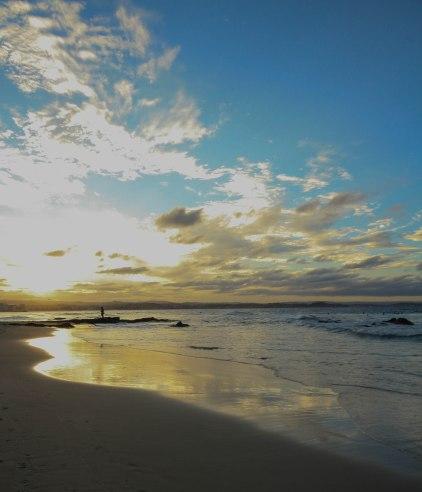 Sunset over Rainbow Bay