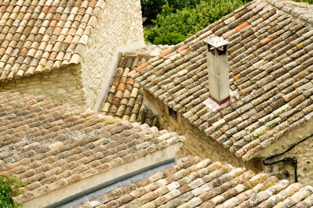 Provence rooftops