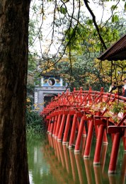 Red Bridge Hanoi