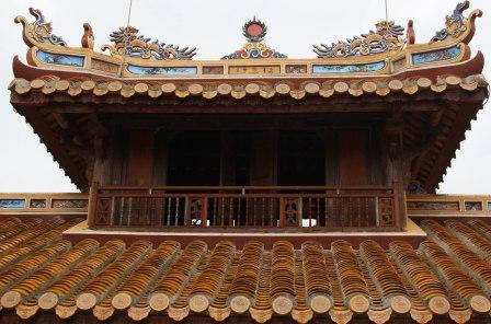 rooftop Hue palace