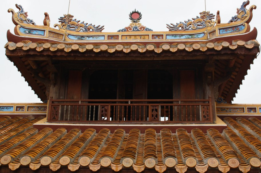 rooftop Hue palace