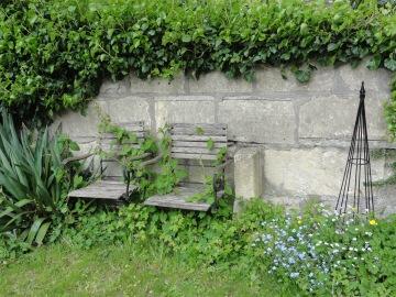 Cottage garden Bath UK