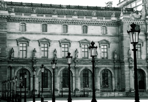 By Lamp post