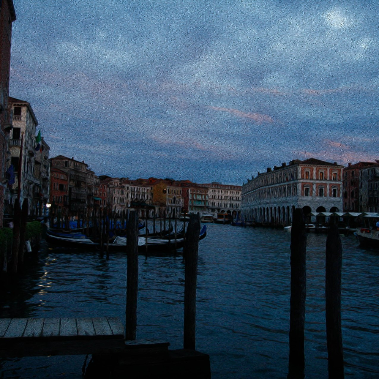 Venice painted