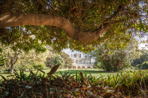 Government House and gardens