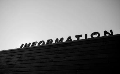 information sign