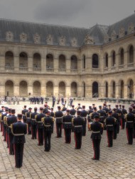 military parade Les Invalides Paris