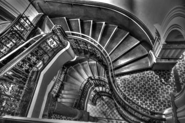 Queen Victoria building stairwell