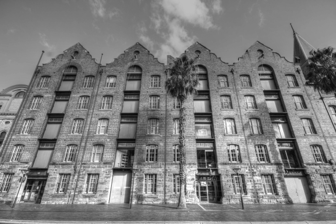 The Rocks area Sydney