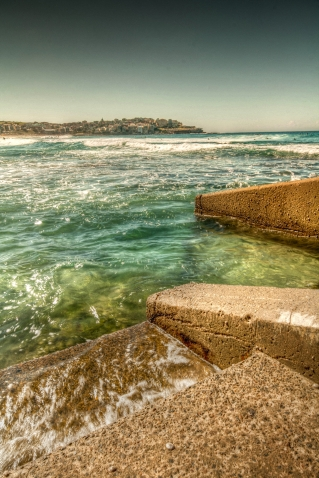 bondi beach steps