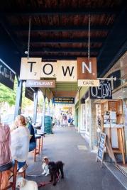 Bangalow town
