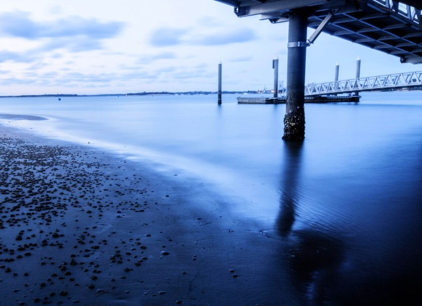 Southport Pier at dusk