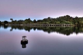Tweed Harbour sunset