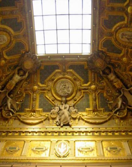 Louvre Ceiling Paris
