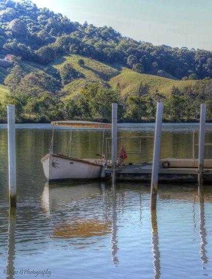 Boat for hire Tumbulgum