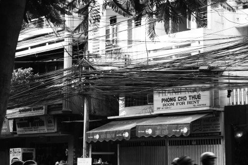 Ho Chi Minh Power lines
