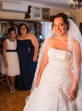 Melanie M's wedding