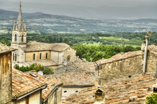 St Remy rooftops