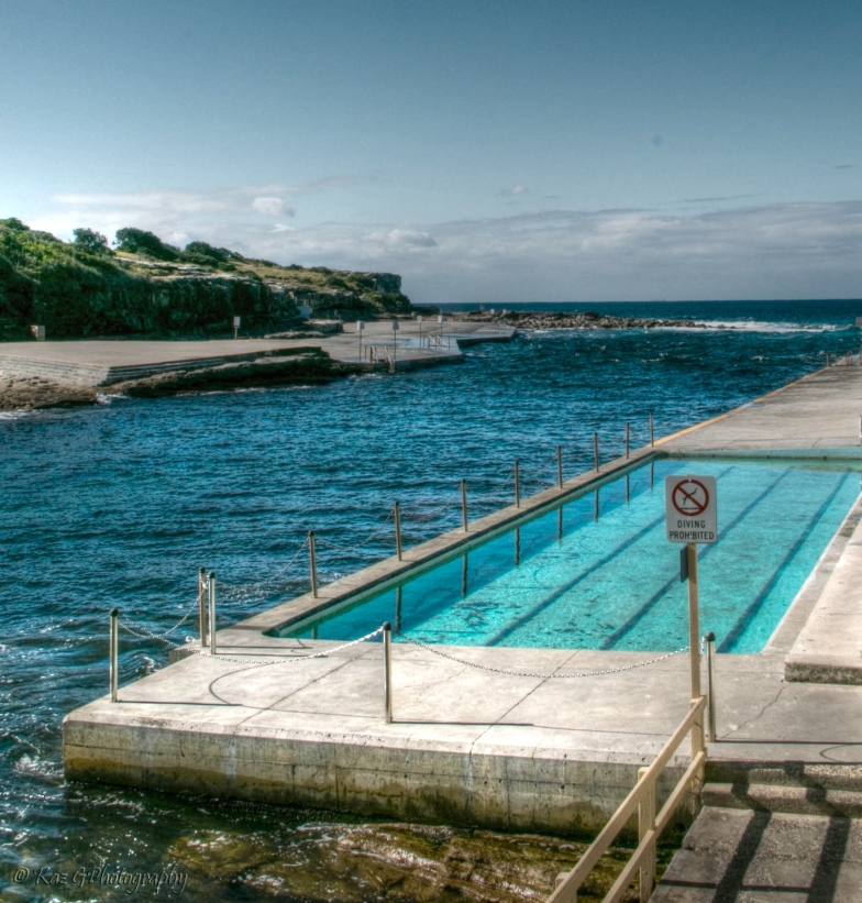 Clovelly tidal pools