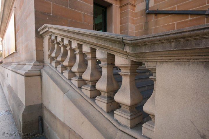 Stair newell Sydney Museum