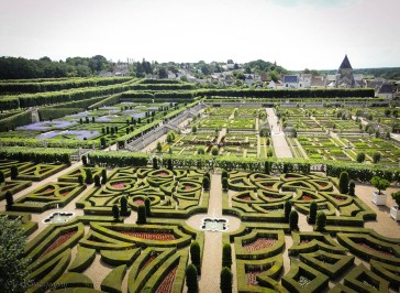 Ornamental garden Villandry