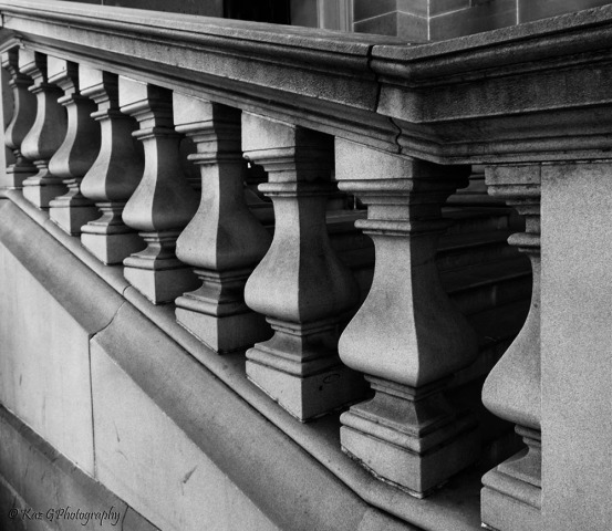 Stair newell Sydney Museum