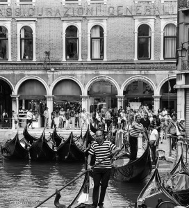 Street scene Venice