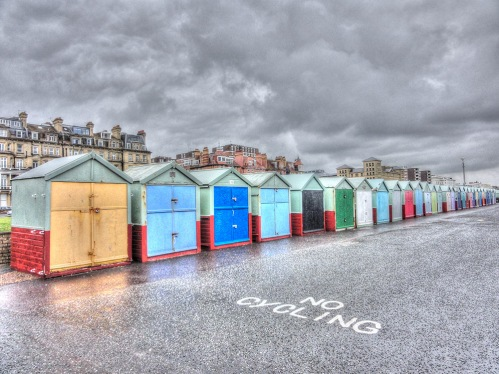 brighton beach huts colour