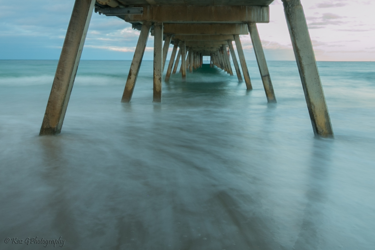 Ed's Sunday Stills, the next challenge:  The Letter U – Under the pier