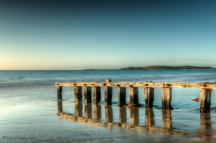 Victor Harbour Old pier colour