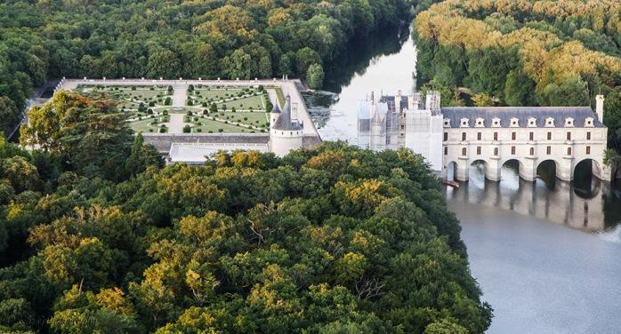chenonceau chateau france