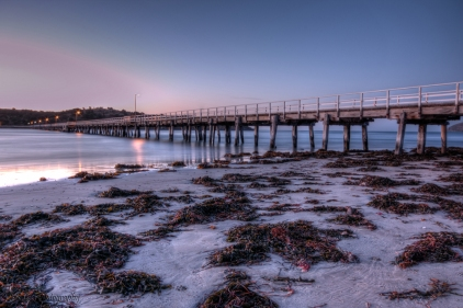victor harbour sunset