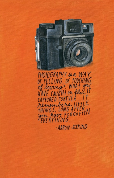 Photography Quote – AaronSiskind