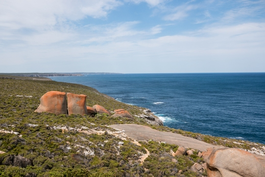view from remarkable rocks