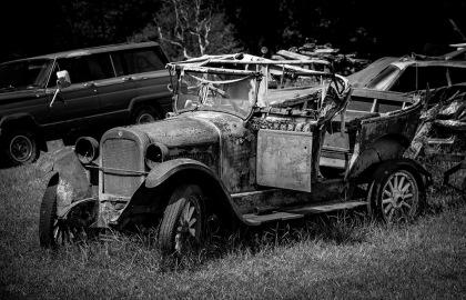 vintage cars Lions Road