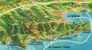 map cine terre