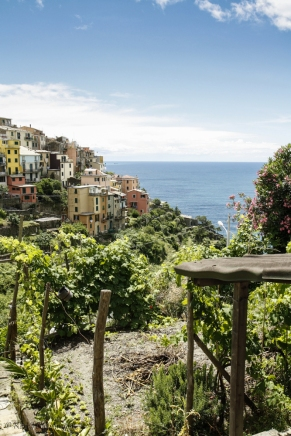 Leaving Corniglia behind