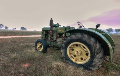 tractors in the mist 4
