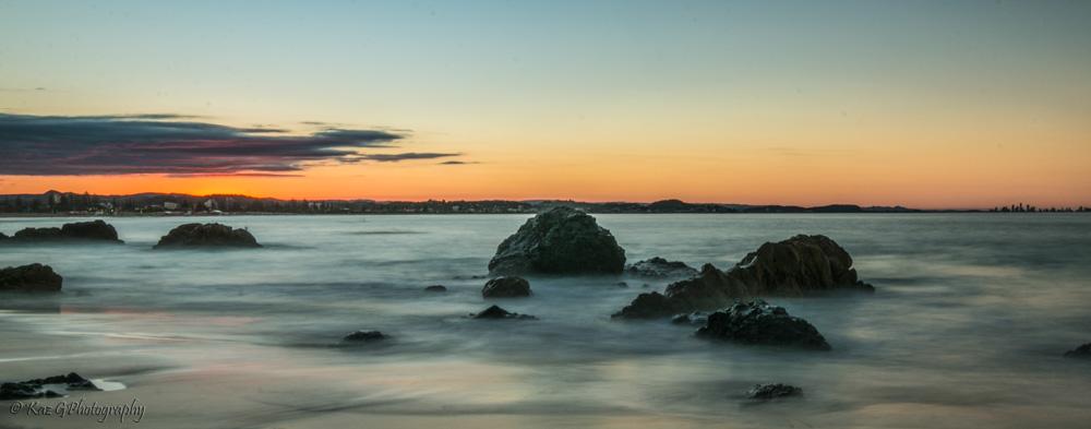 Kirra Beach sunset