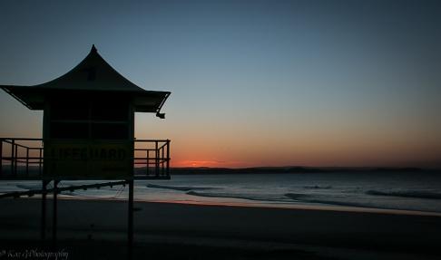 Rainbow Bay sunset