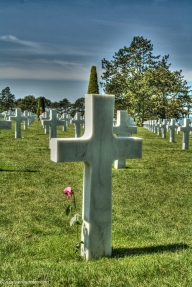dday memorial crosses
