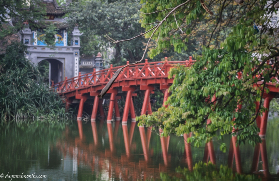 Red Bridge Ha Noi