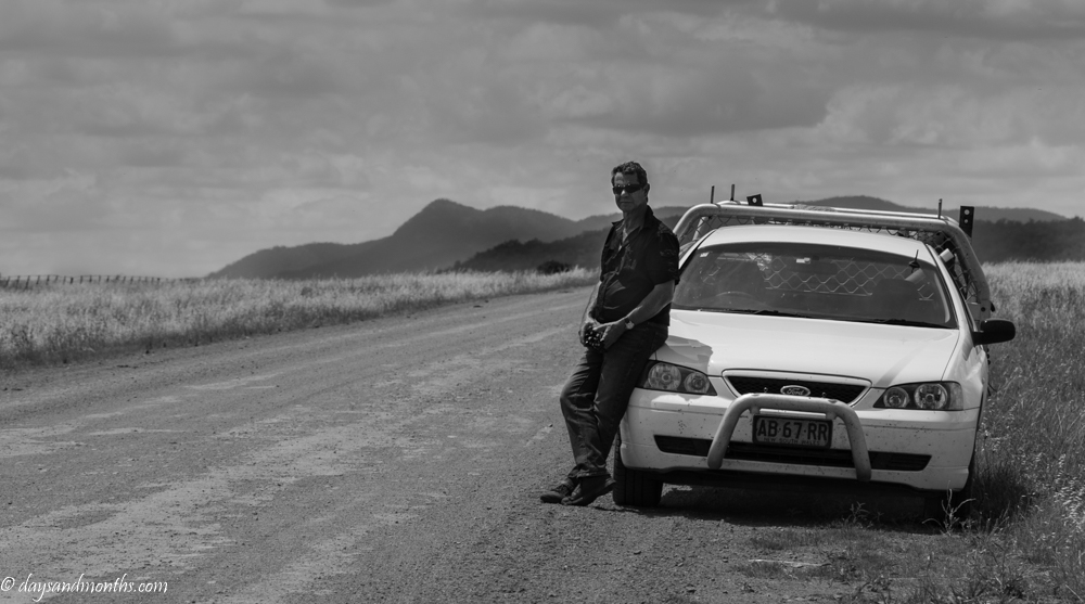 A Man and his Ute | Monochrome Madness 2 – 30