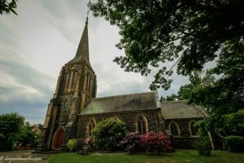 St Marys church Hagley